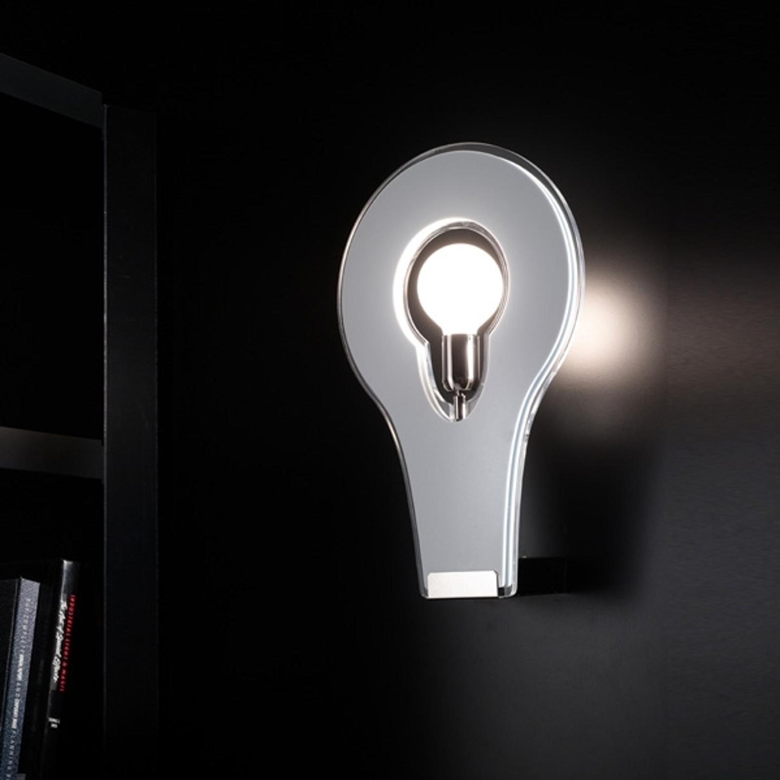 Exclusieve wandlamp Flat 29, wit