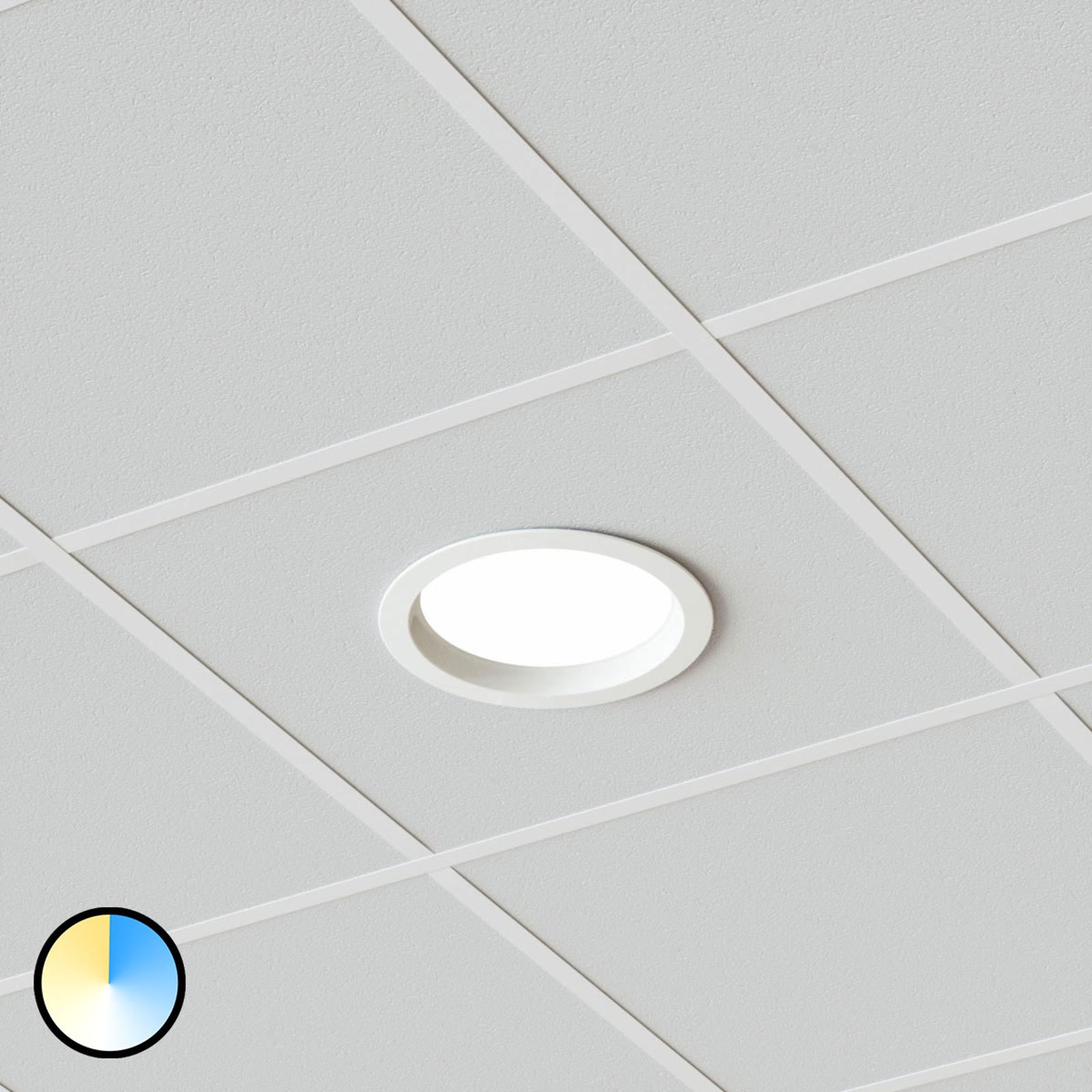Downlight LED Piet, 36 W 3 couleurs de lumière