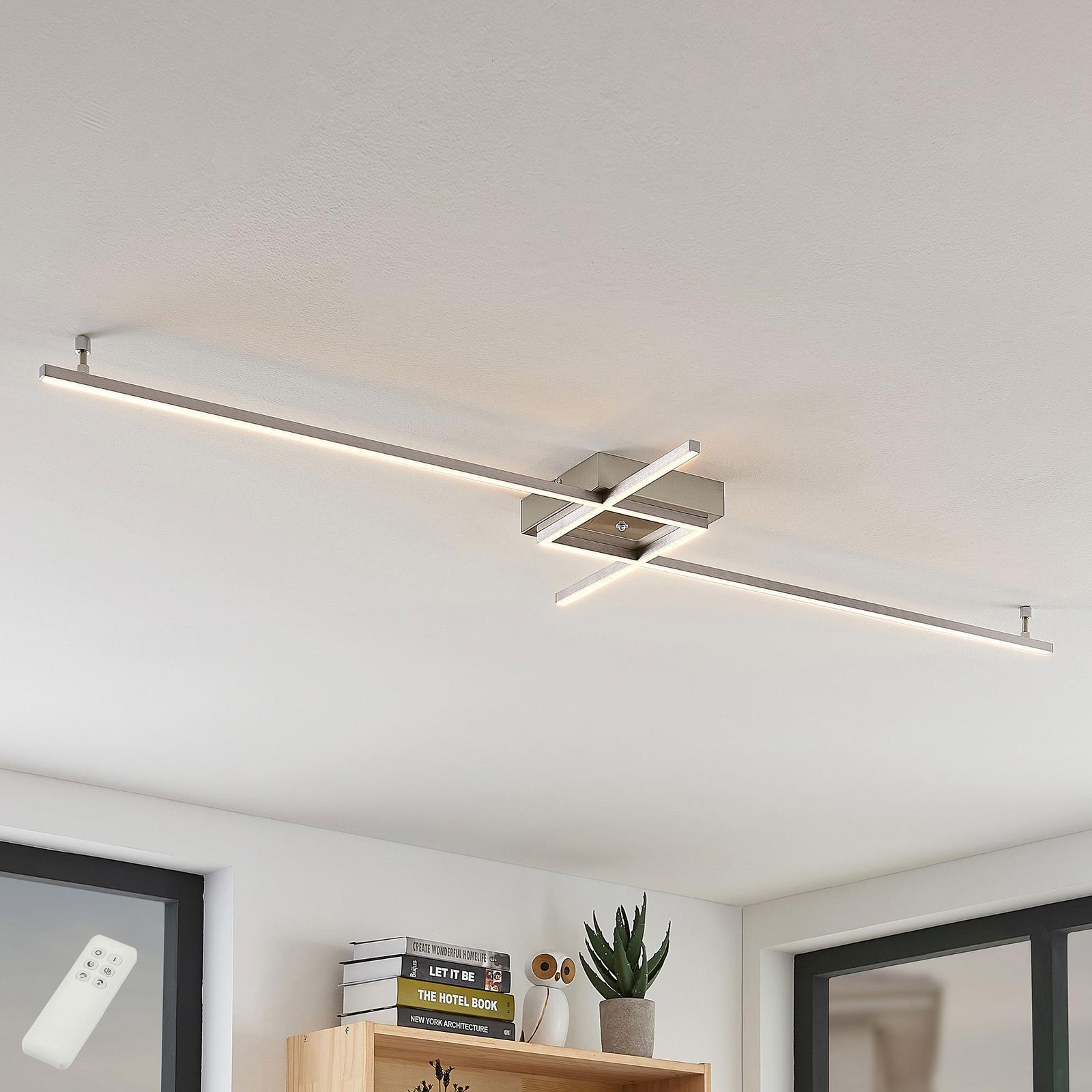 Keki lampa sufitowa LED z pilotem