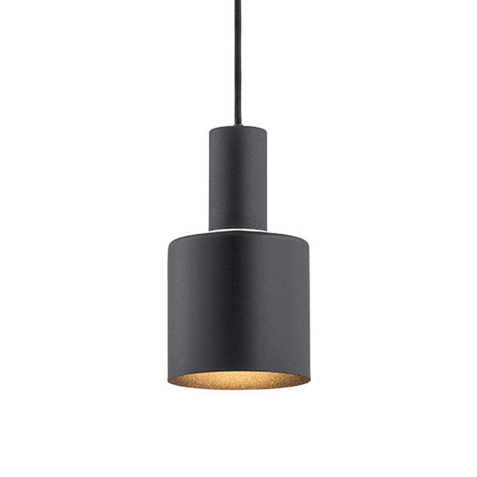 Riippuvalo Selma, 1-lamppuinen, musta Ø 12 cm