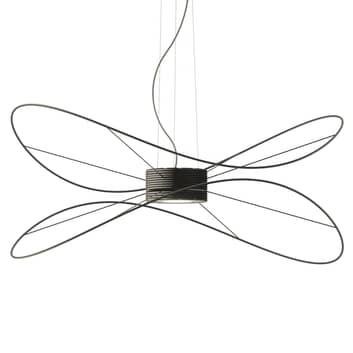 Axolight Hoops 2 LED-Hängeleuchte, schwarz
