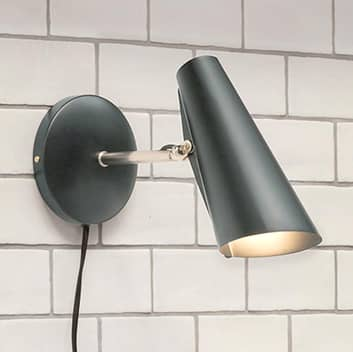 Northern Birdy – vägglampa med kontakt, 31,5 cm