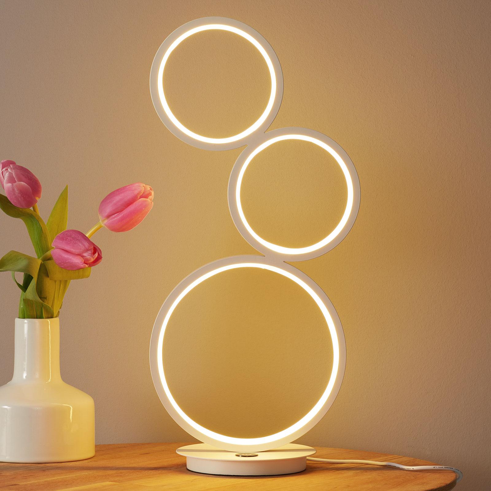 Lampe à poser LED Vika variateur tactile 3 niveaux