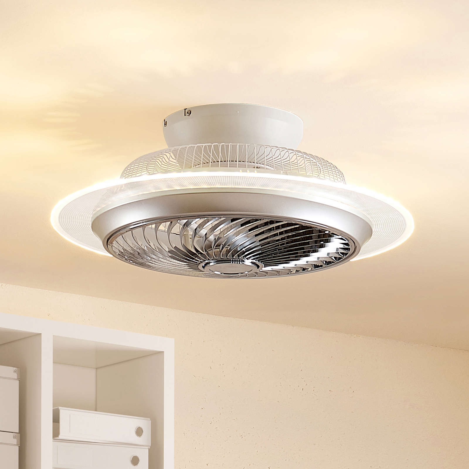 Starluna Yolina ventilatore a pale LED con luce