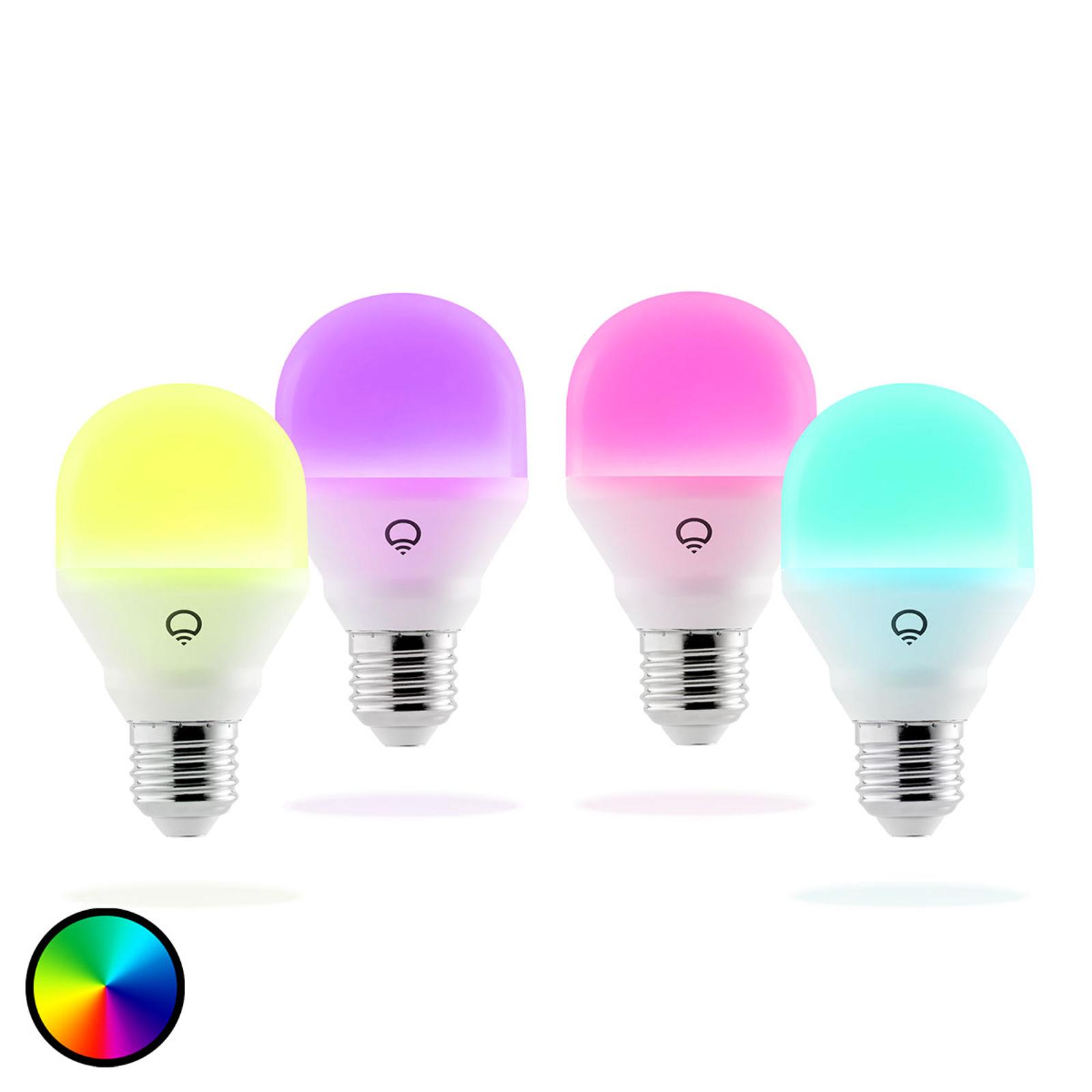 LIFX Mini Color LED-Lampe E27 9W, 4er Packung