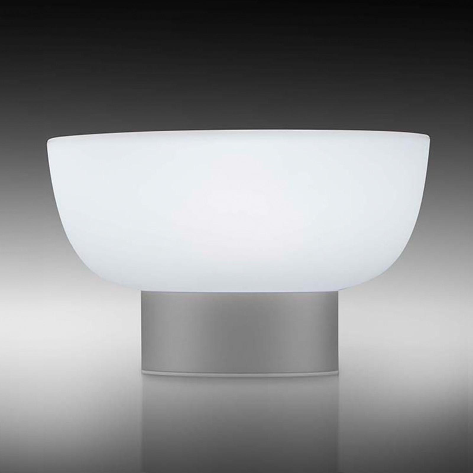 LED-Außendekoleuchte Patio, silber, 20 cm