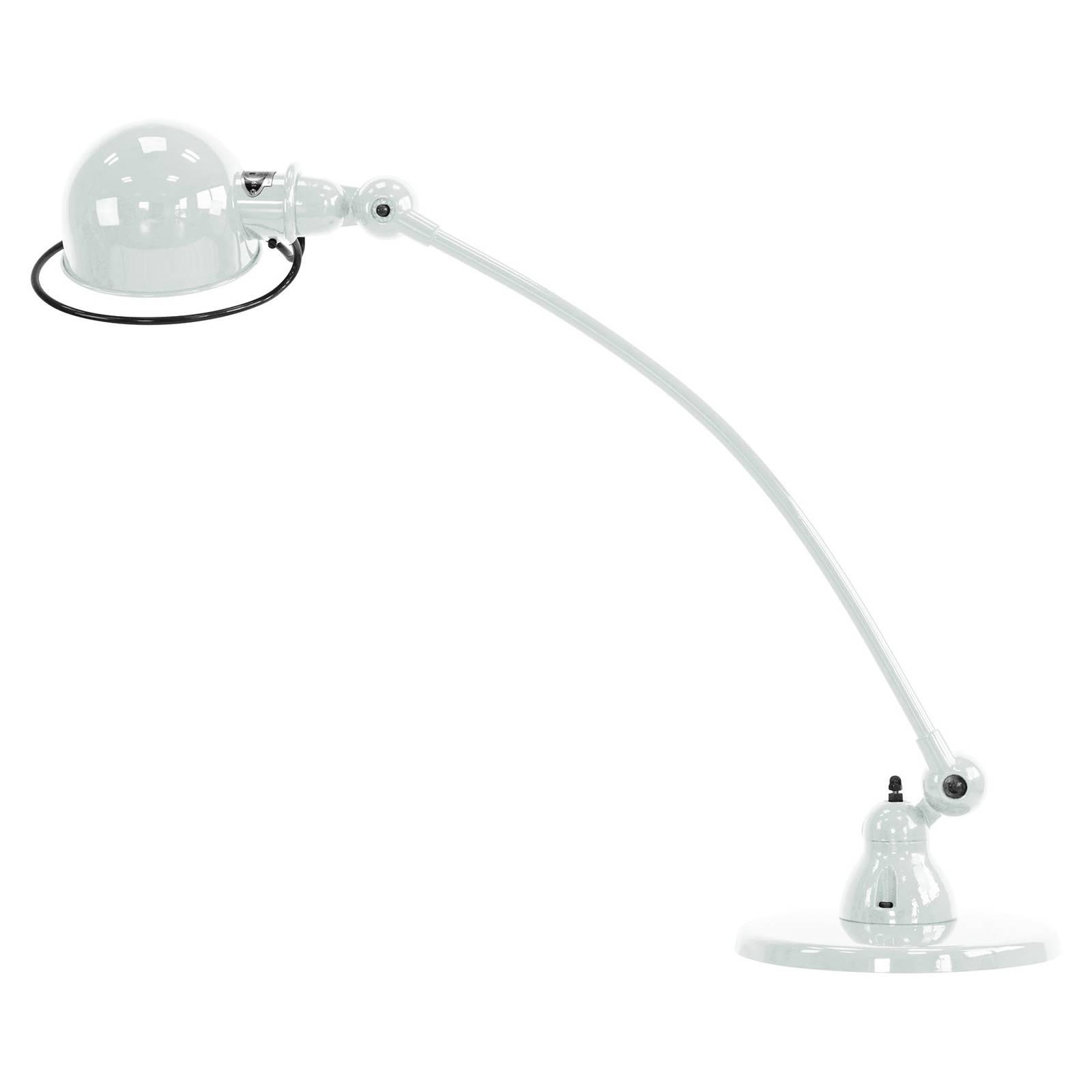 Jieldé Loft C6000 tafellamp, gebogen, wit