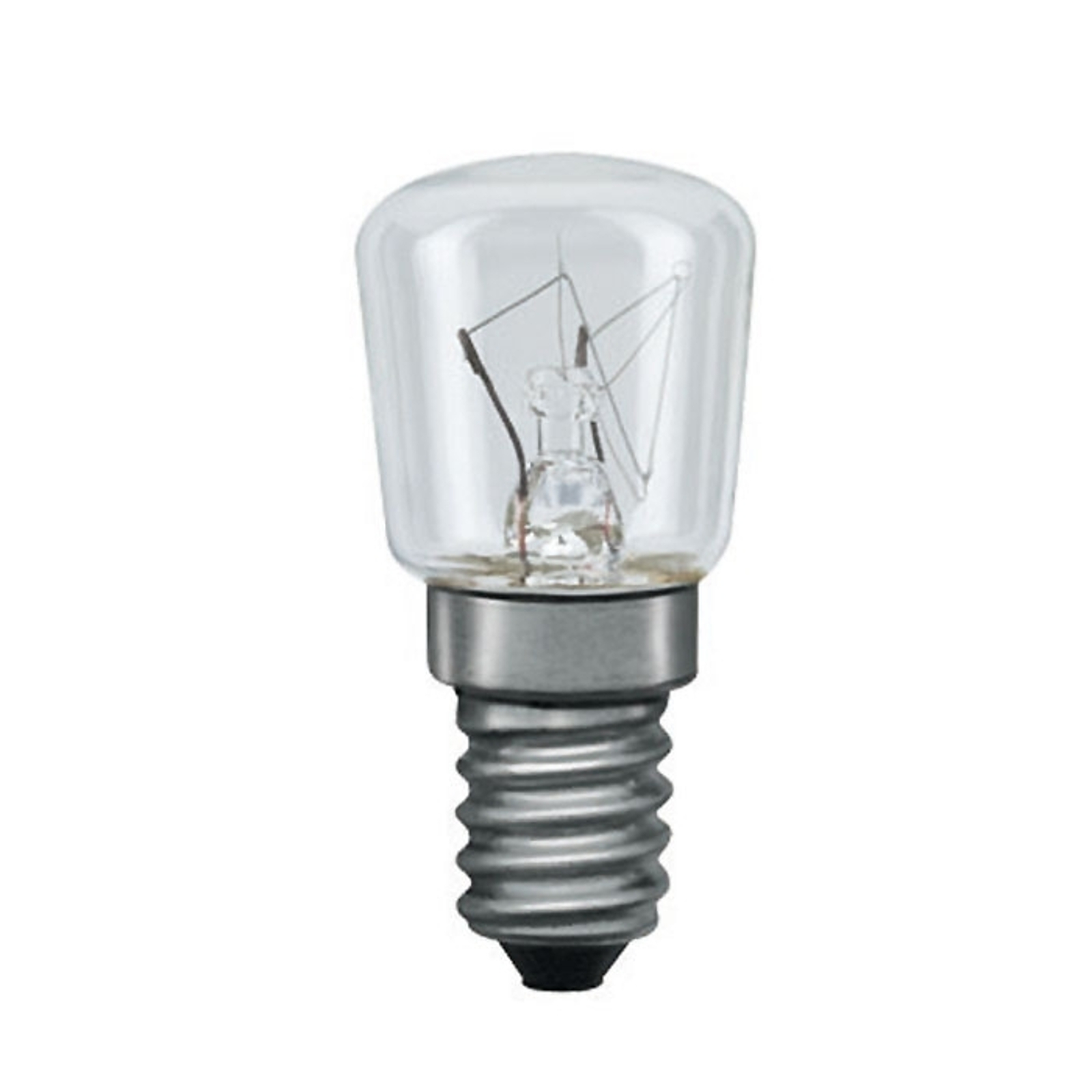 E14 7W pæreformet lyskilde til sengelamper