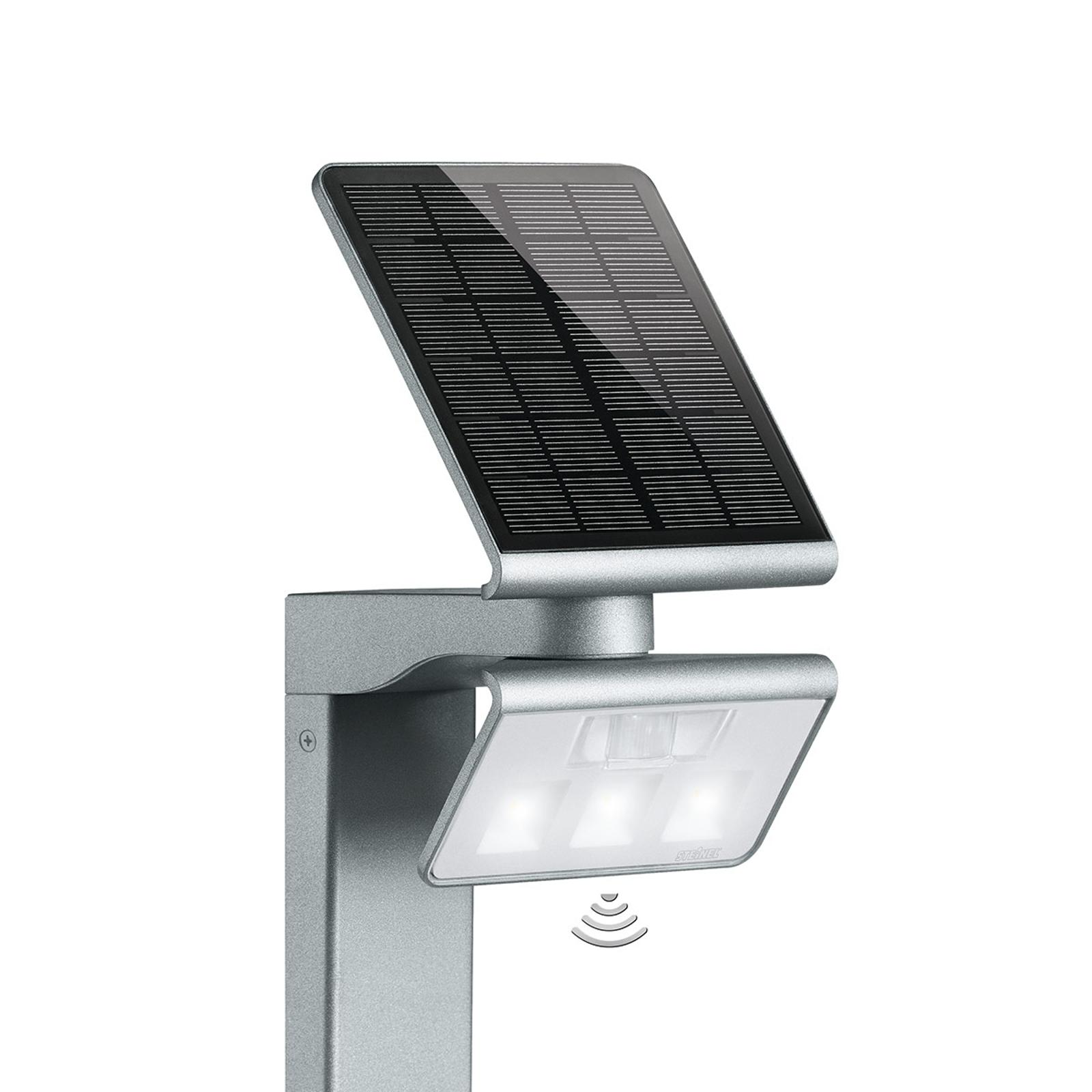 STEINEL XSolar Stand LED-Solarleuchte silber