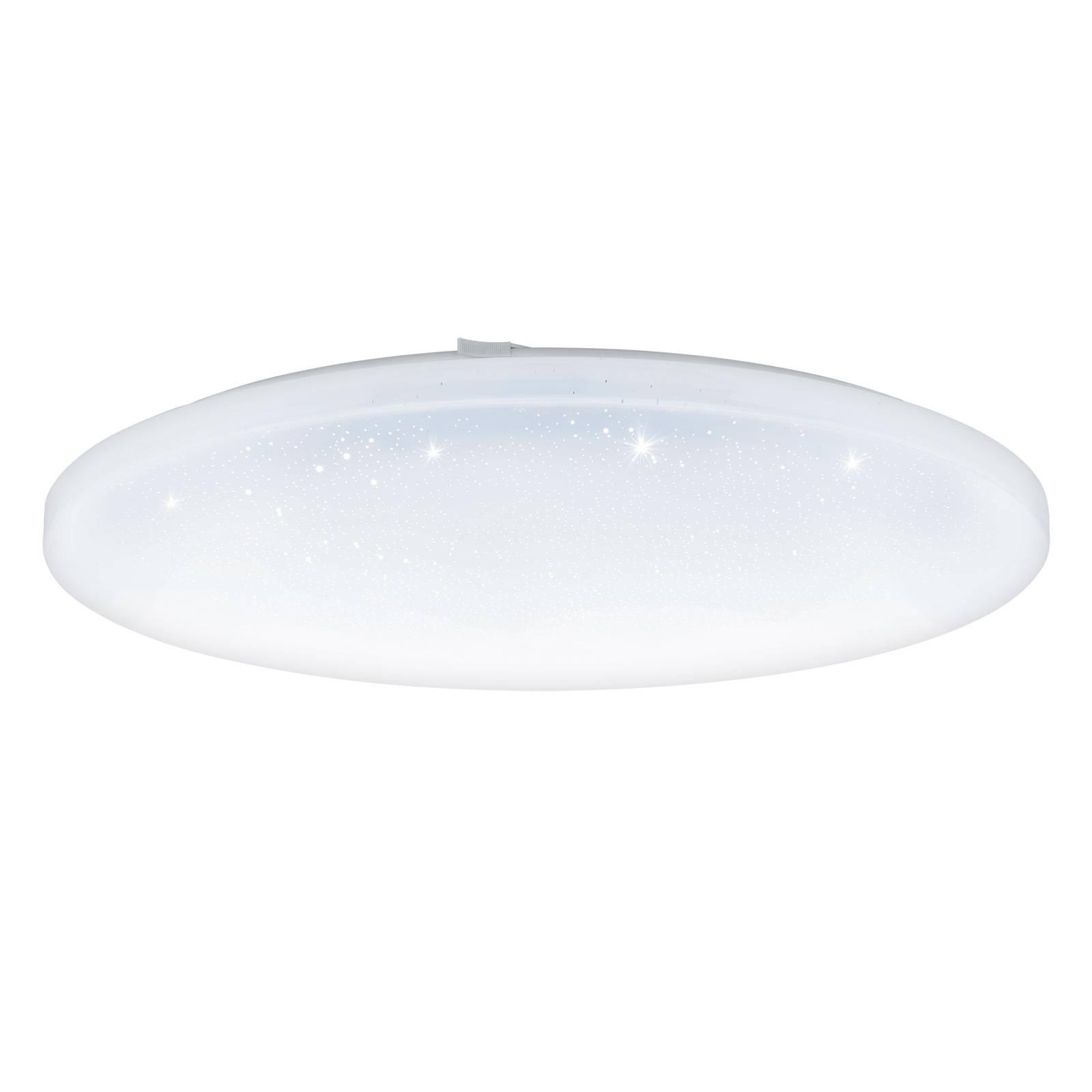 Lampa sufitowa LED Frania kryształowa, okrągła