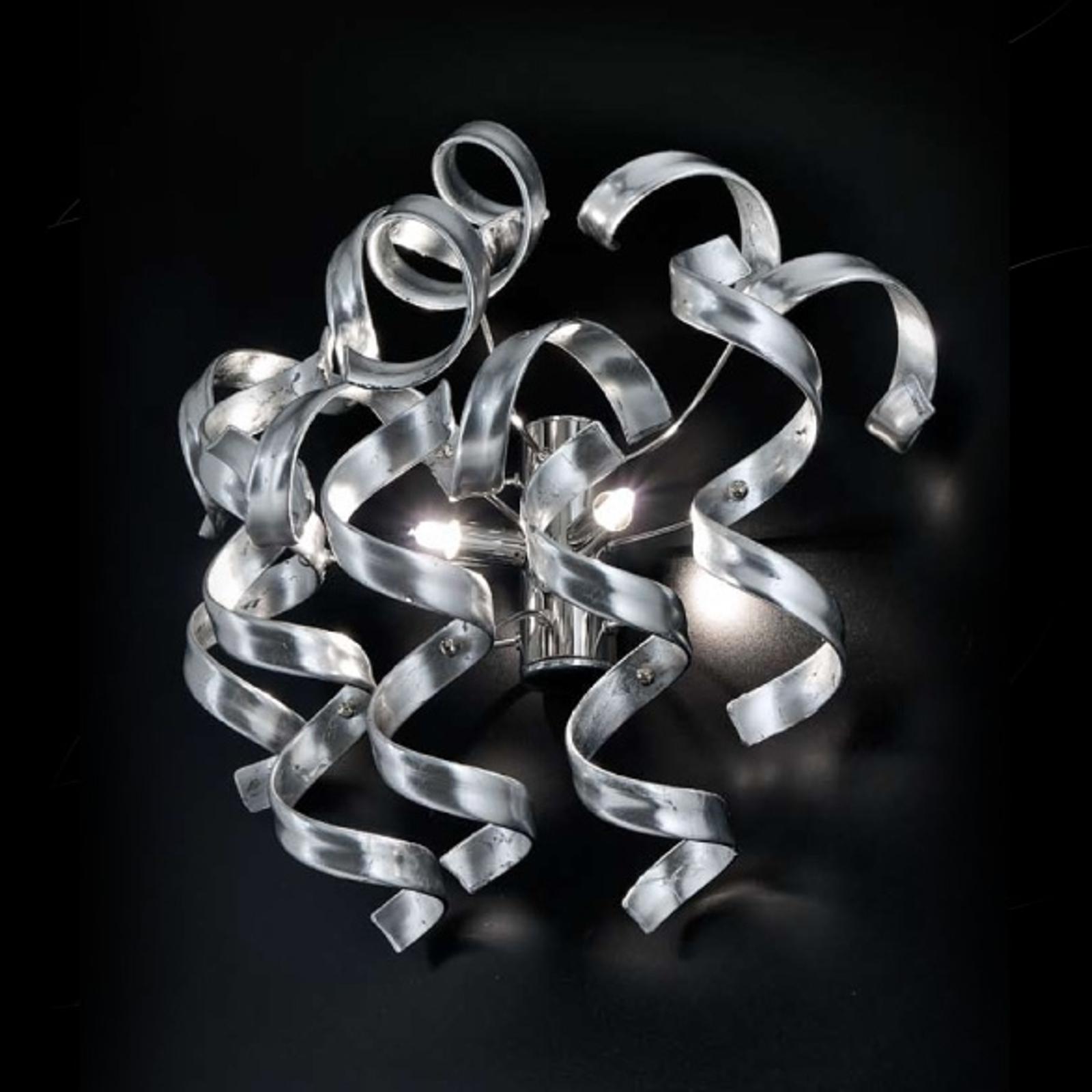 Wandleuchte Silver