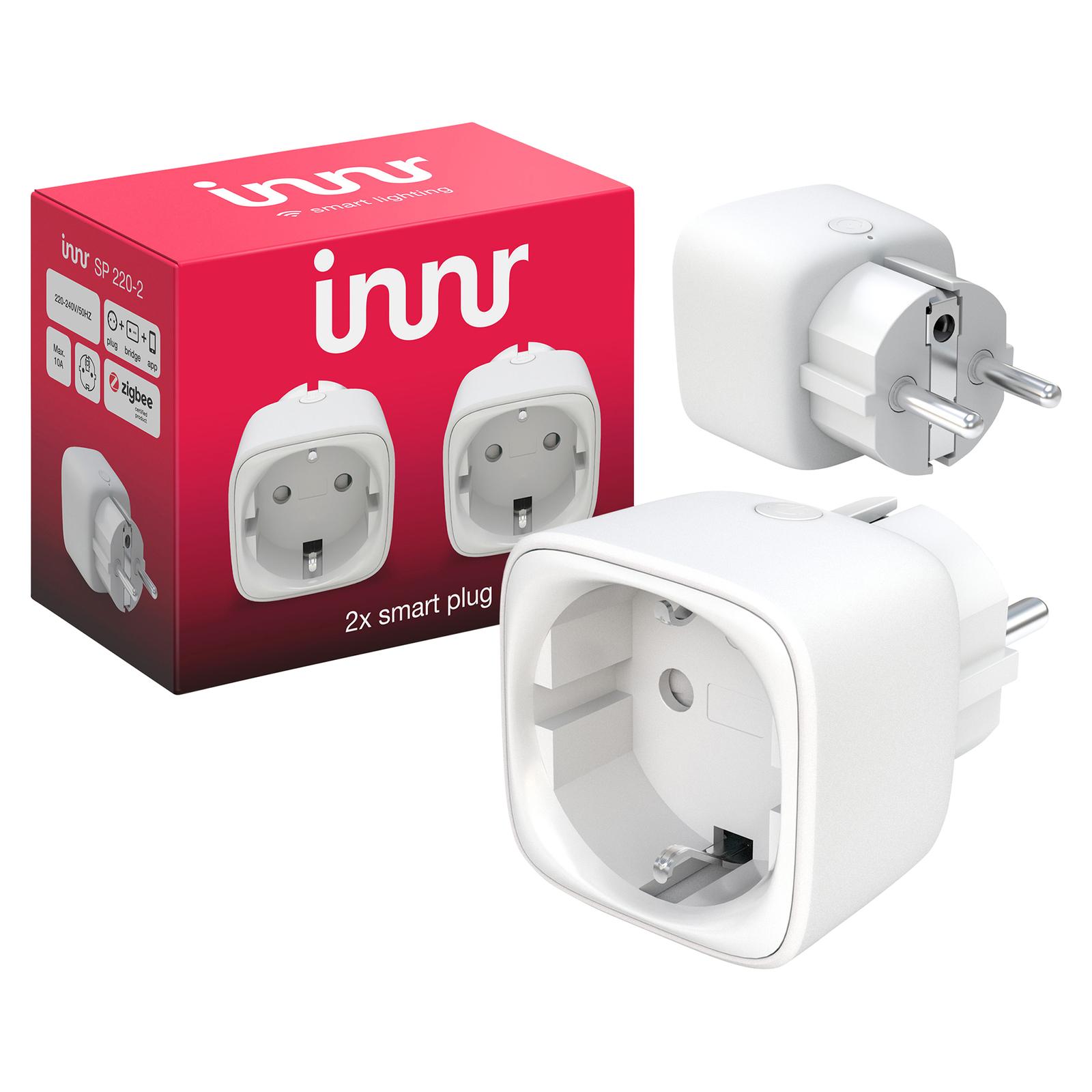 Innr Smart Plug Steckdose SP 220-2, 2er Packung