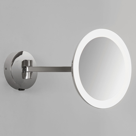 Opplyst veggspeil Mascali med LED