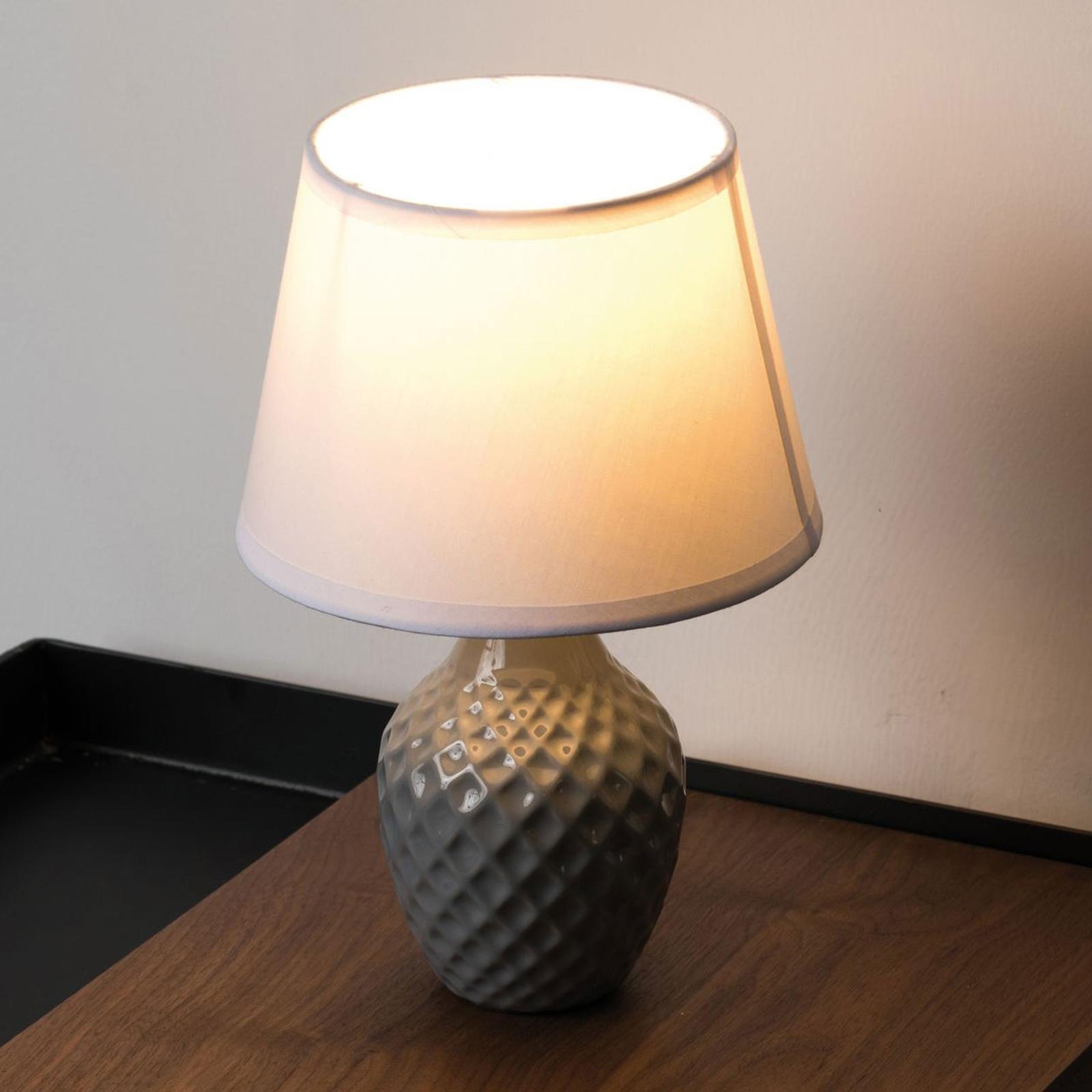 Pauleen Lovely Sparkle Tischlampe mit Stoffschirm