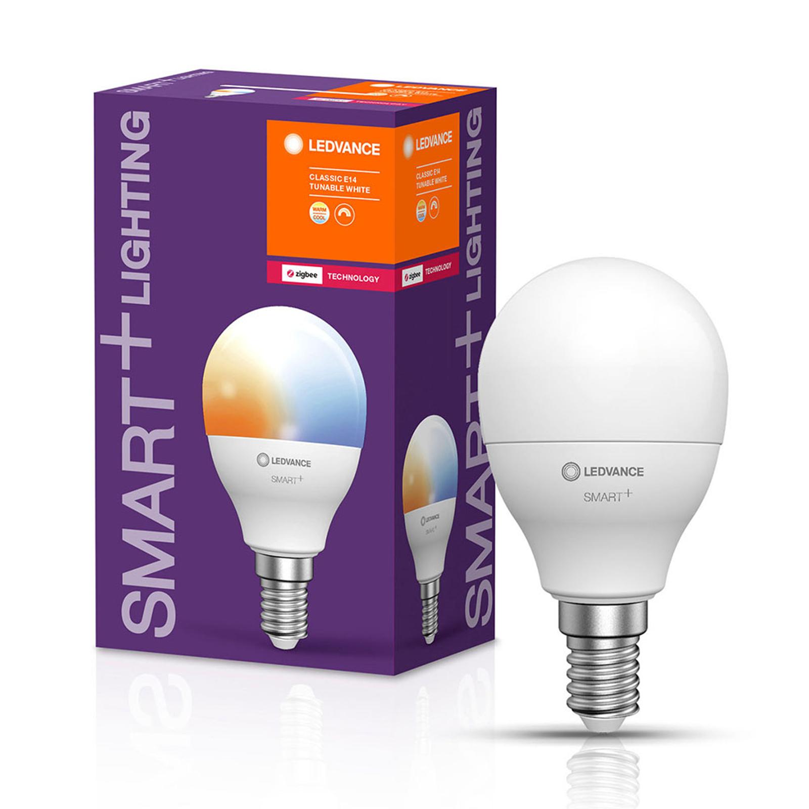 LEDVANCE SMART+ ZigBee E14 LED-dråpepære 5W CCT