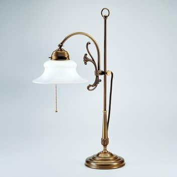 Bordlampen Elisabeth med filigranarbeid