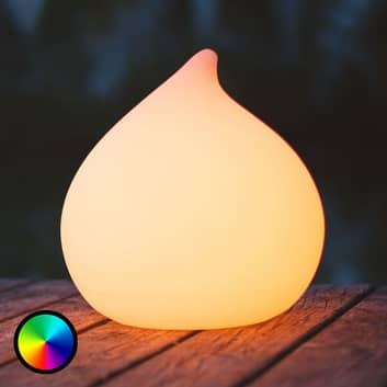Dew - een bestuurbare en drijvende LED lamp