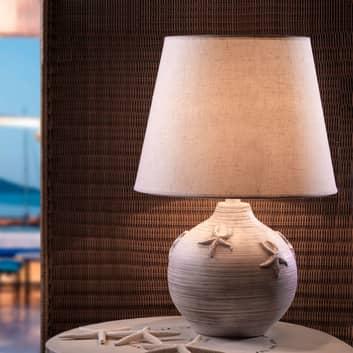 Lámpara mesa Marina alto 61cm decoración estrellas