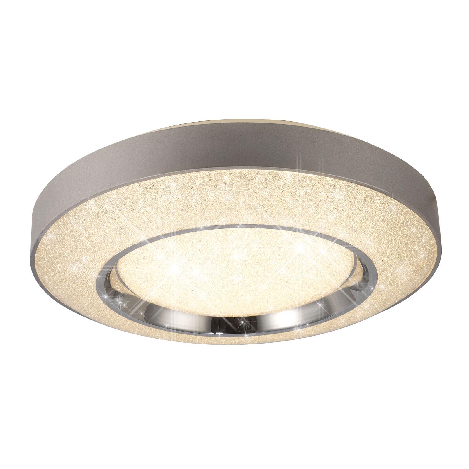 Lampa sufitowa LED Santorini z pilotem Ø52 cm