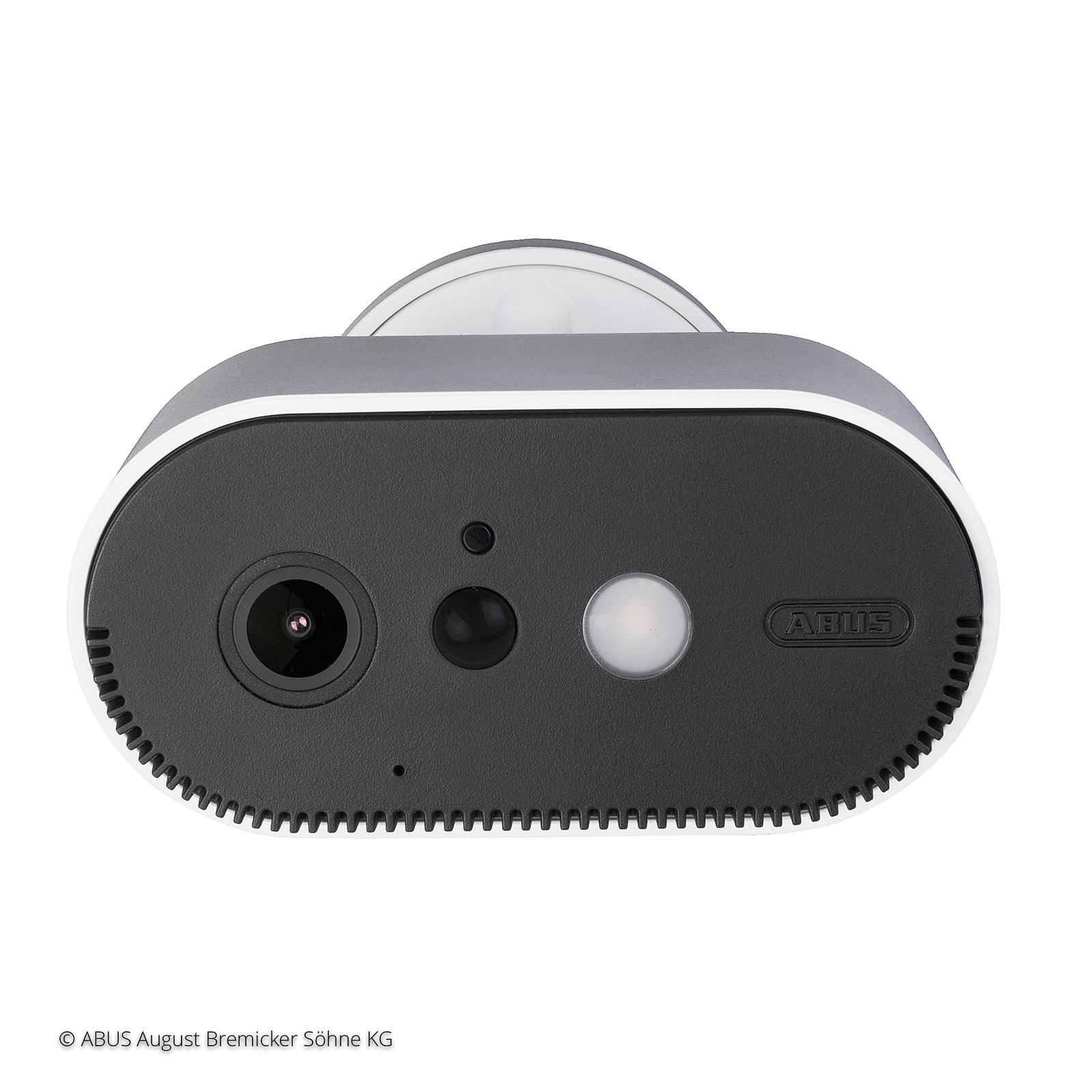 ABUS 2 caméra extérieures, batterie + station base