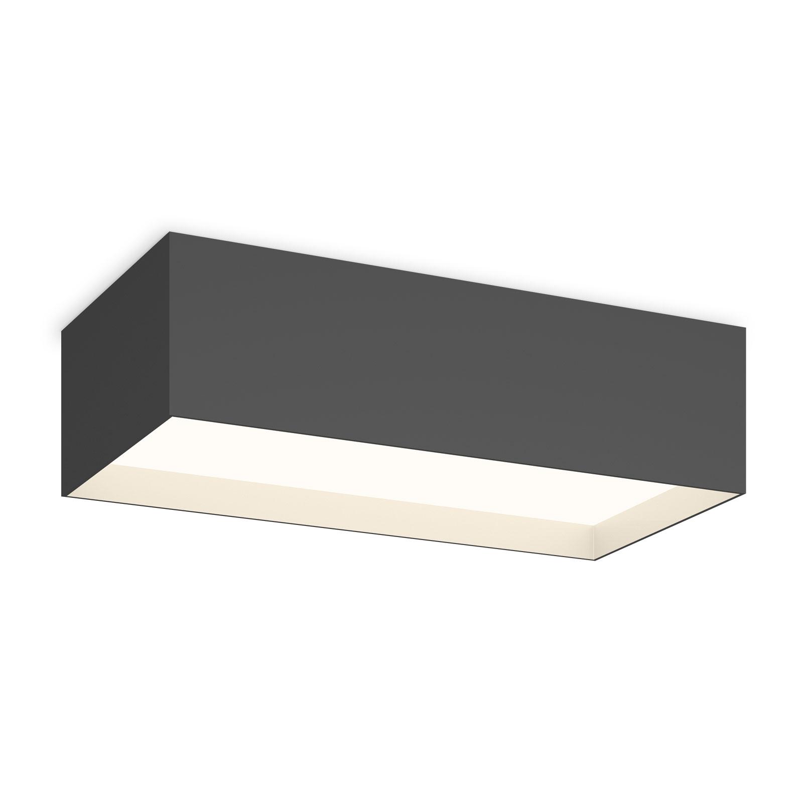 Vibia Structural 2634 plafondlamp 48cm donkergrijs