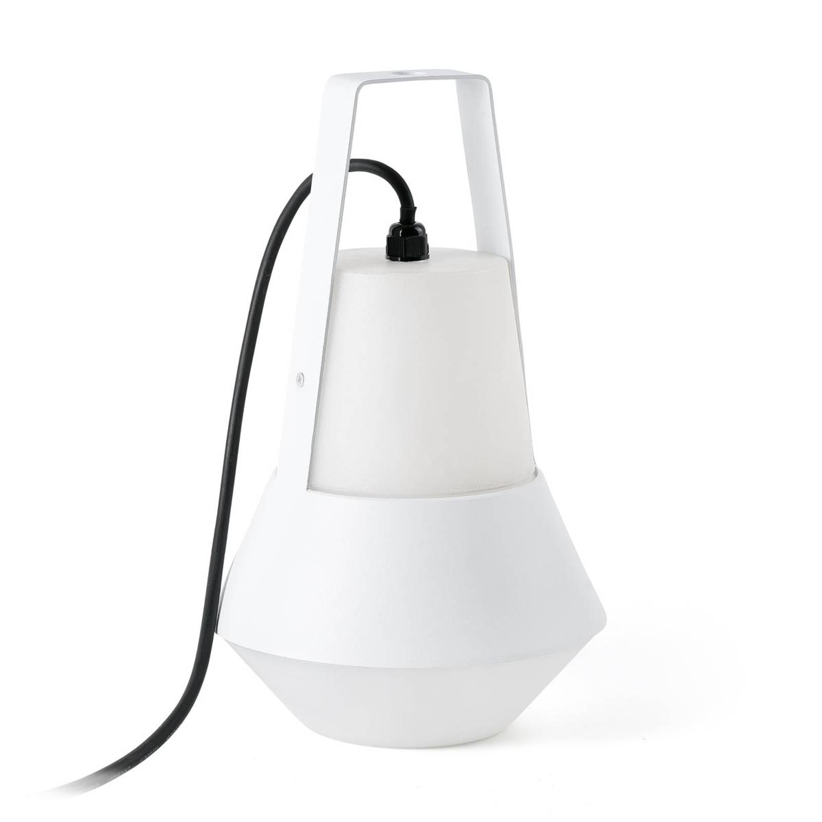 Cat - lampada portatile da esterni, bianco