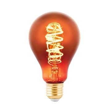 Żarówka LED E27 4W żarówka naparowana miedziana