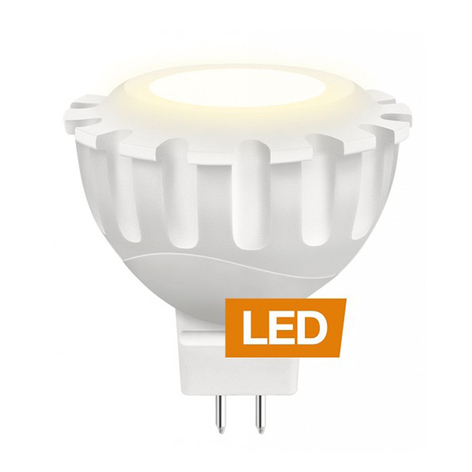 Riflettore LED 827 8W MR16 GU5,3 60° non dimmer.