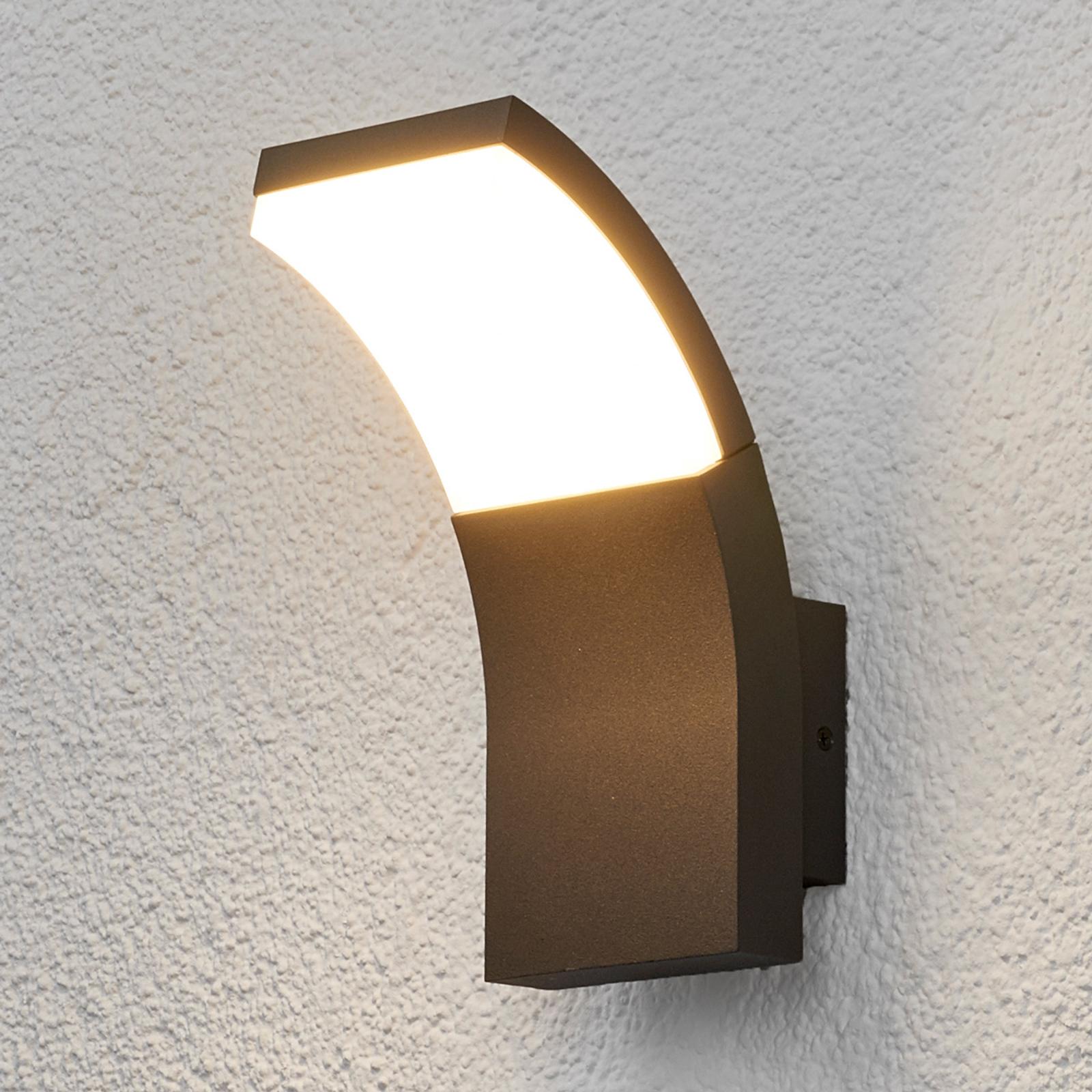 Lampada Timm con LED, a parete, per esterni