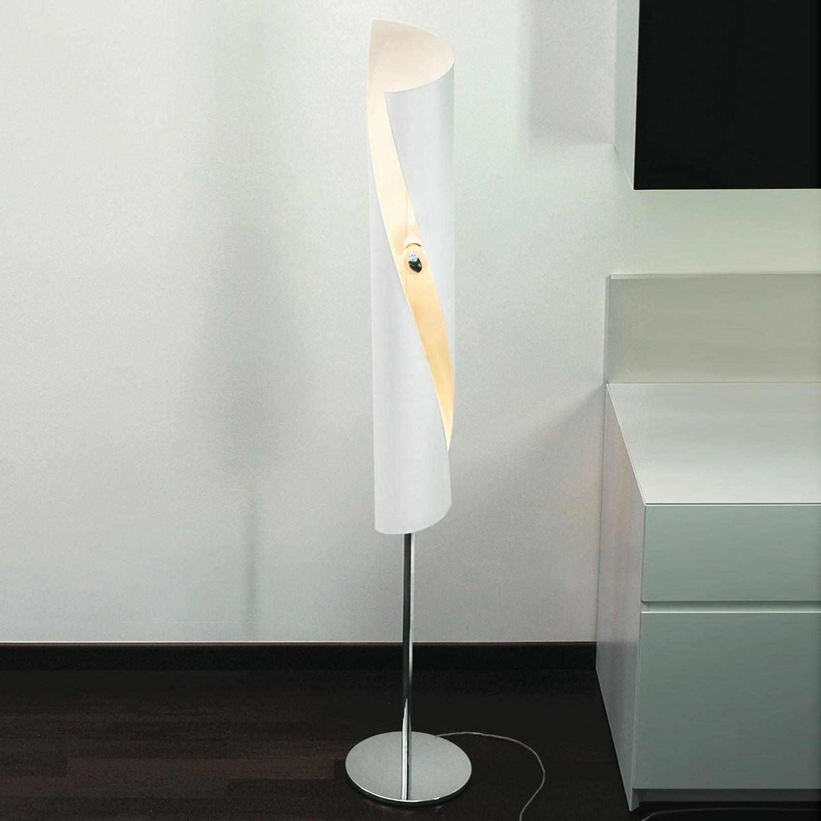 Knikerboker Hué - lampadaire de designer blanc