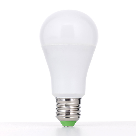 E27 ampoule LED 18 W opale, blanc chaud, dimmable