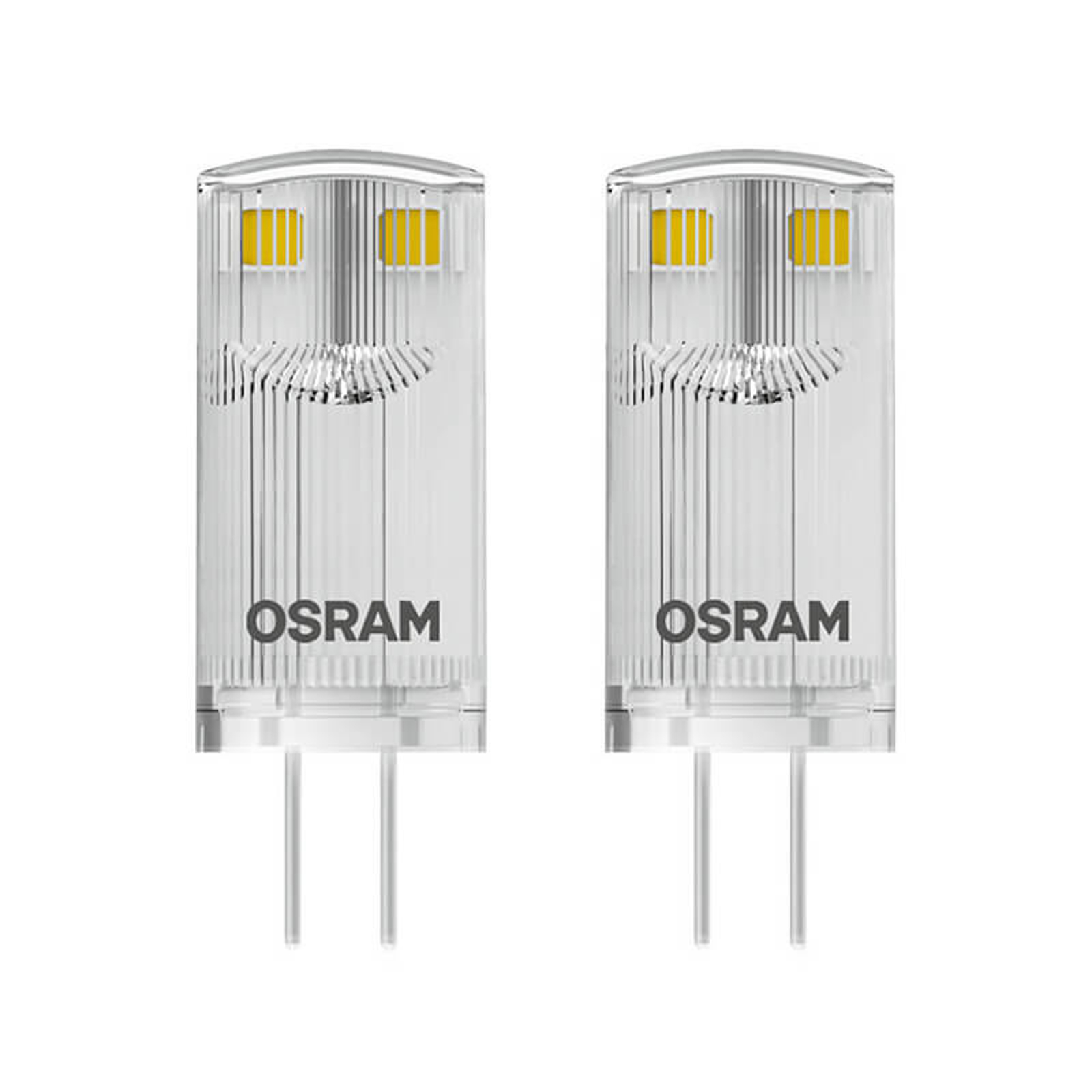 LED-Stiftsockellampe G4 0,9W 827, 2er Set