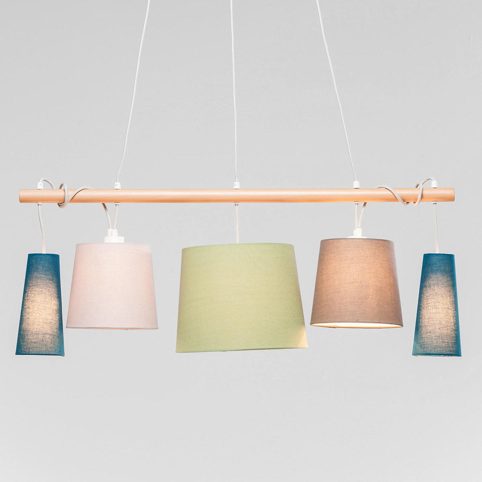 KARE Parecchi Nordic hængelampe i pastelfarver