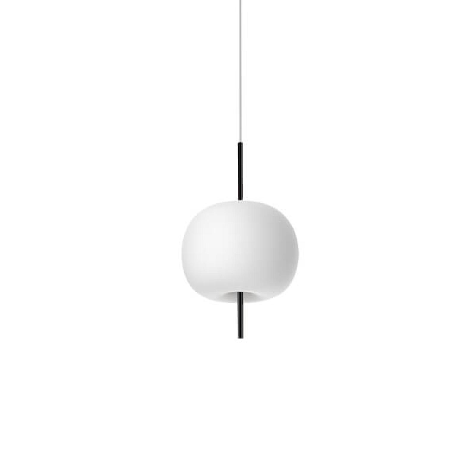 Kundalini Kushi - LED-Hängeleuchte schwarz 16cm