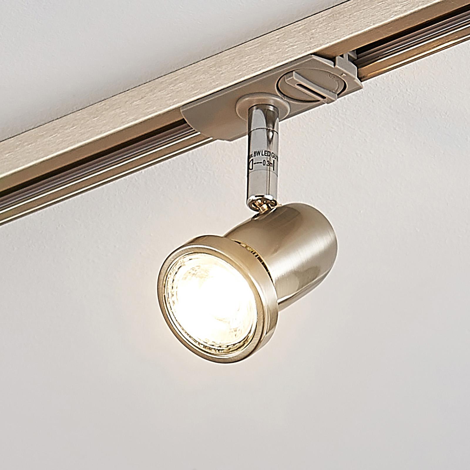 LED-Spot Radmir f. 1-Phasen-Schienensystem, nickel