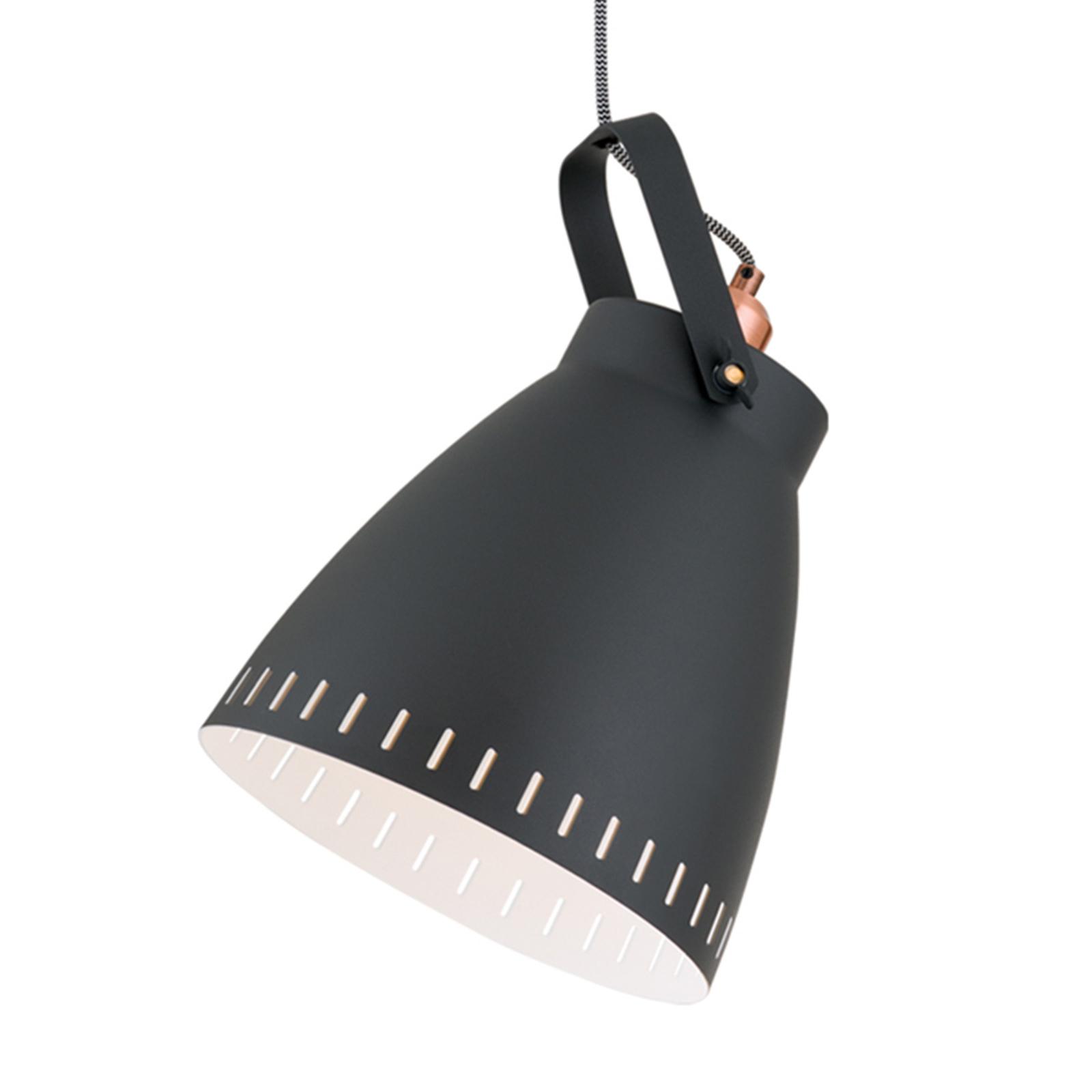 Lampa wisząca Theke z metalowym kloszem 1-punktowa