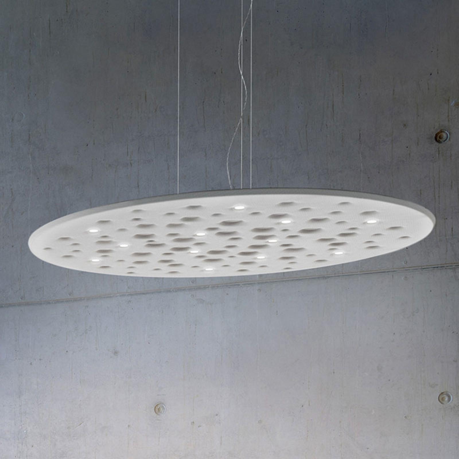 Artemide Silent Field 2.0, hængelampe down hvid