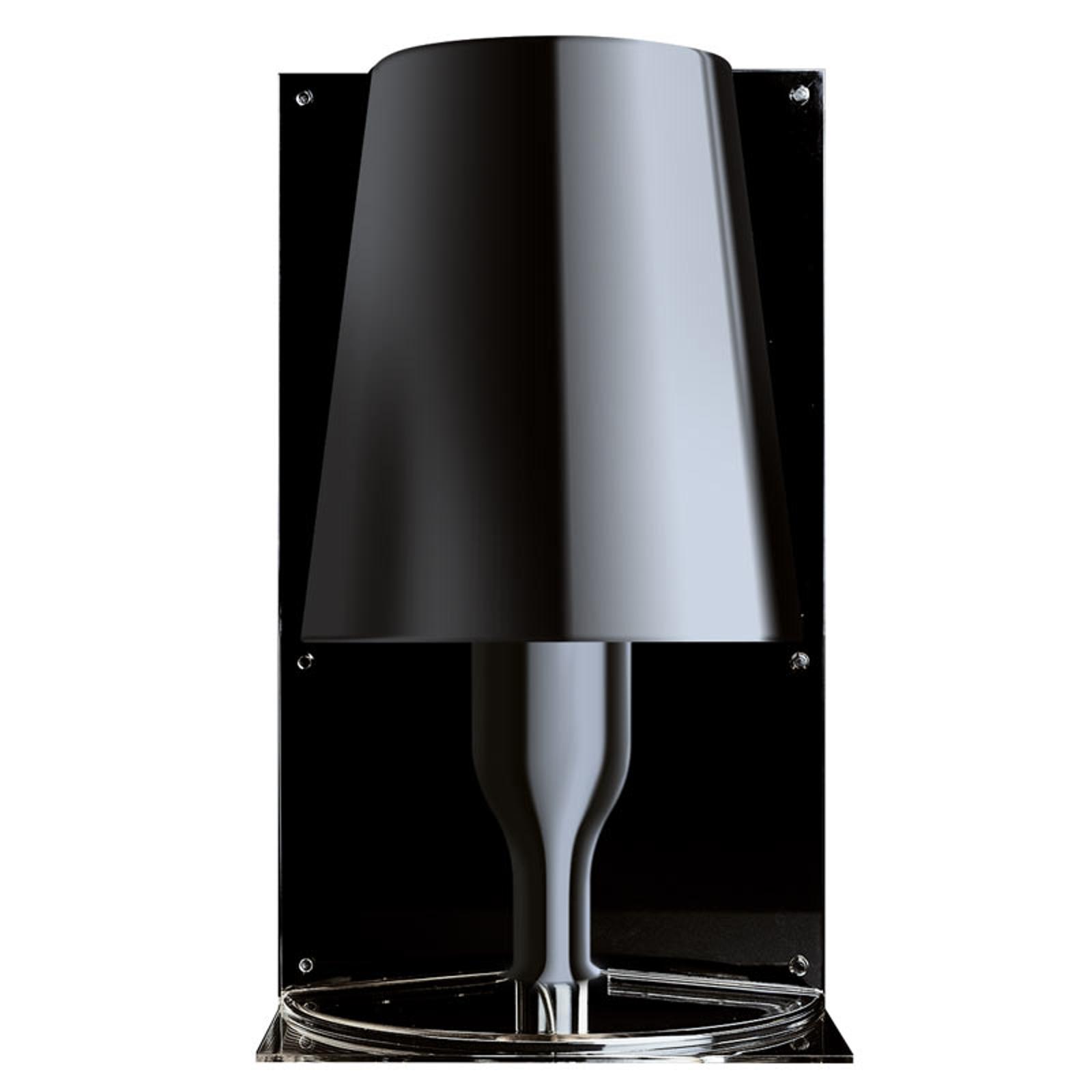 Kartell Take Designer-Tischleuchte, schwarz