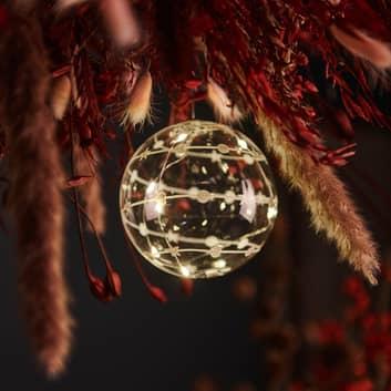Suspension déco Sweet Christmas balle, Ø 10cm