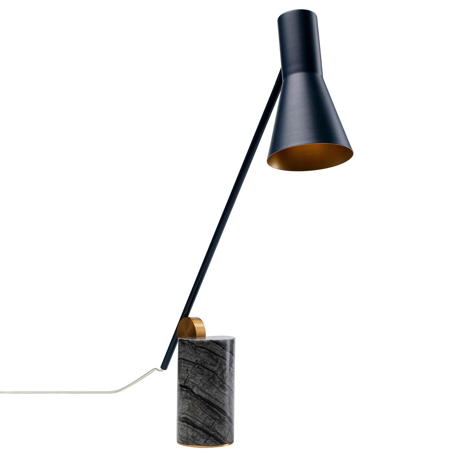 KARE Metro lampe à poser avec pied en marbre