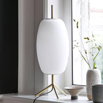 FRANDSEN Silk skleněná stolní lampa
