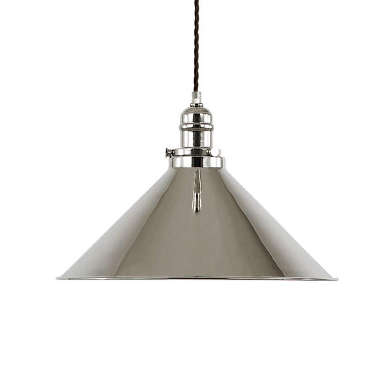 Hanglamp Provence, nikkel gepolijst