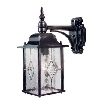 Lampa ścienna zewnętrzna WEXFORD w formie latarni