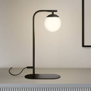 Lucande Rama lámpara de mesa LED pantalla vidrio