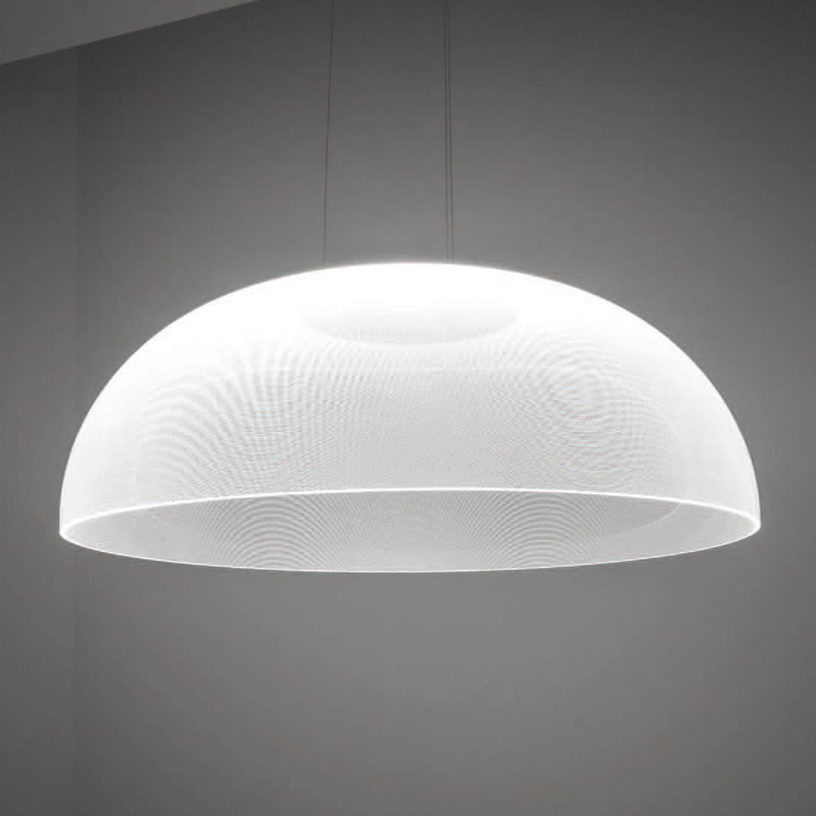 Suspension LED Demì, dimmable avec DALI