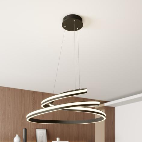 Lucande Emlyn LED-Hängeleuchte, 80 cm