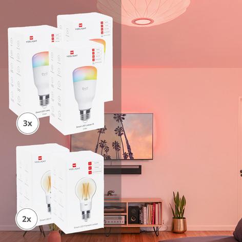 Yeelight Smart 5 LED-Lampen-Set Color/Filament