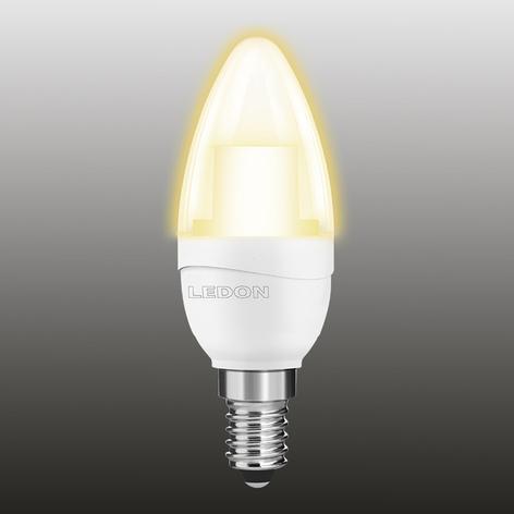 E14 5W 927 LED-Kerzenlampe klar