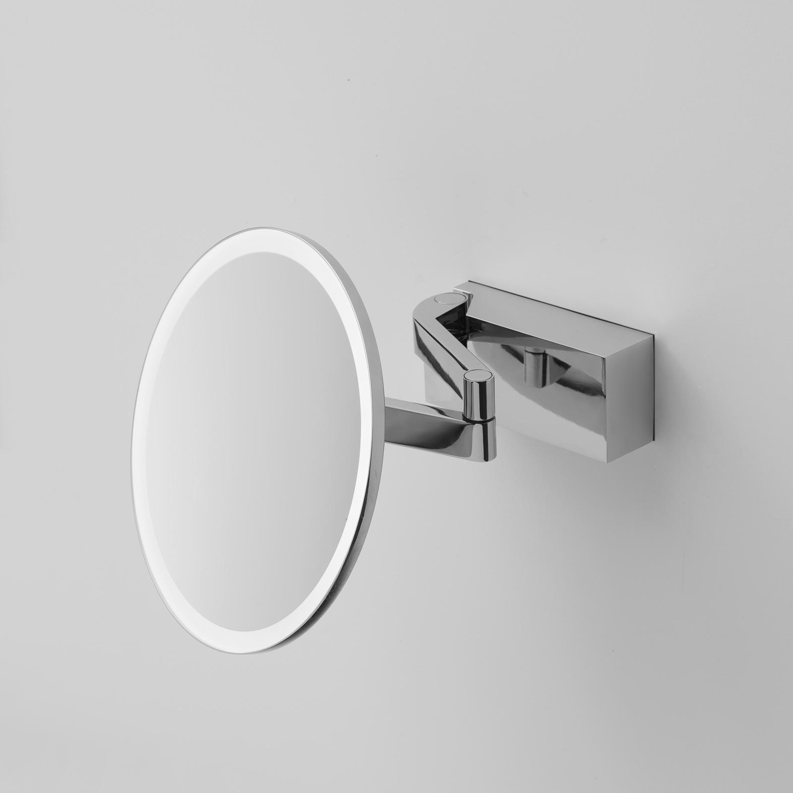Decor Walther Vision R LED-kosmetikspejl, krom