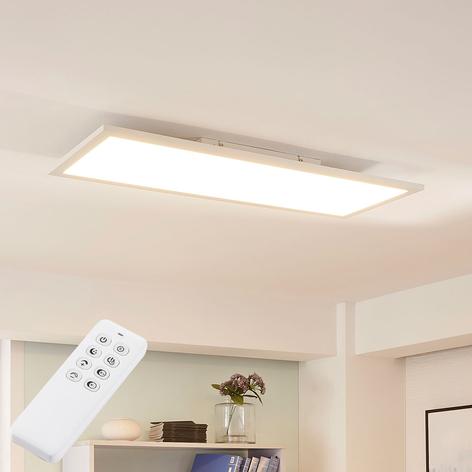 Avlangt LED-panel Lysander, varmhvit dagslys